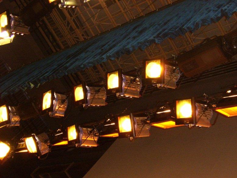 北京大红门服装商贸城灯光换色器工程
